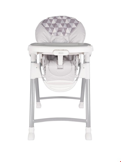 Lot 1201 BRAND NEW BOXED GRACO CONTEMPORARY HIGHCHAIR (1 BOX) RRP £119.99