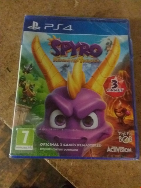 Lot 2559 SPYRO REIGNITED TRILOGY FOR PS4