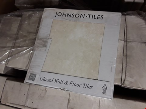 Lot 7110 PALLET OF 52 BOXES OF BRAND NEW SHALE GLAZED TILES 30X30CM