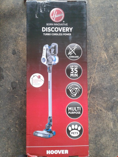Lot 202 HOOVER DISCOVERY PETS CORDLESS VACUUM