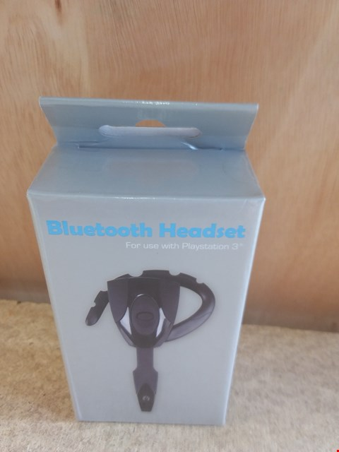 Lot 634 A BRAND NEW BOXED BLUETOOTH HEADSET FOR USE WITH PS3