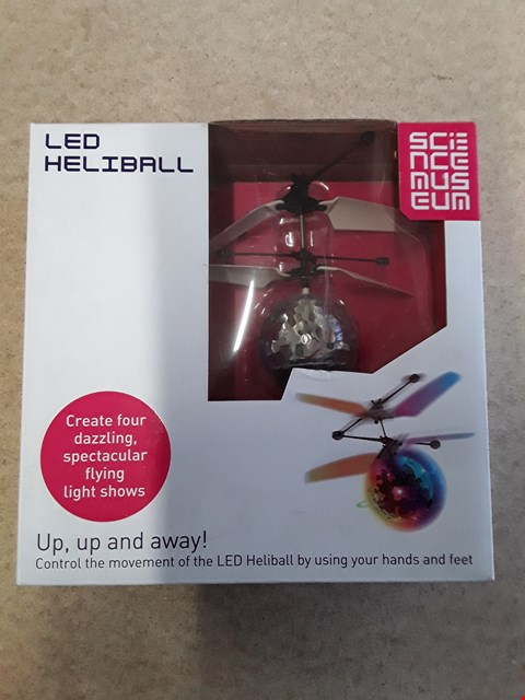 Lot 581 BRAND NEW BOXED LED HELIBALL CONTROLLED BY USING HANDS AND FEET