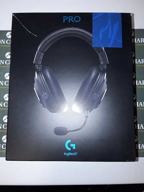 Lot 6585 LOGITECH G PRO GAMING HEADSET 2ND GENERATION COMFORTABLE AND DURABLE WITH PRO-G 50 MM AUDIO DRIVERS