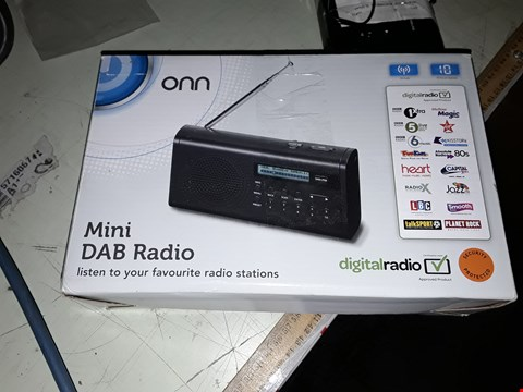 Lot 70 6X ONN MINI DAB RADIOS