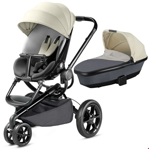 Lot 11 BOXED QUINNY MOODD PUSHCHAIR/STROLLER AND FOLDABLE CARRYCOT