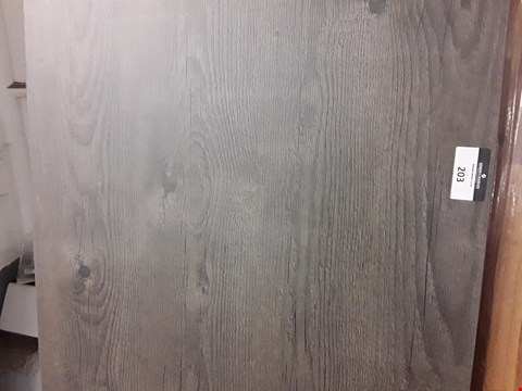 Lot 203 DARK WOOD LOOK SQUARE EDGE LAMINATE KITCHEN WORKTOP - MEASURES APPROXIMATELY 3000X660X38MM
