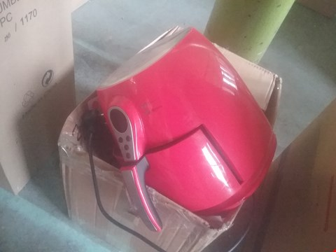 Lot 2363 COOK'S ESSENTIALS AIRFRYER IN RED