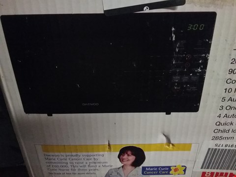 Lot 728 DAEWOO KOR-6N7RS 20L MICROWAVE OVEN