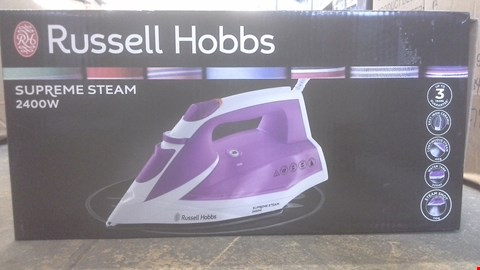 Lot 2170 RUSSELL HOBBS SUPREME STEAM 2400W