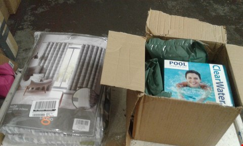 Lot 10568 LOT OF 2 BRAND NEW ITEMS INCLUDING A CLEAR WATER POOL STARTER KIT AND TENBY EYELET CURTAINS 229CMX229CM