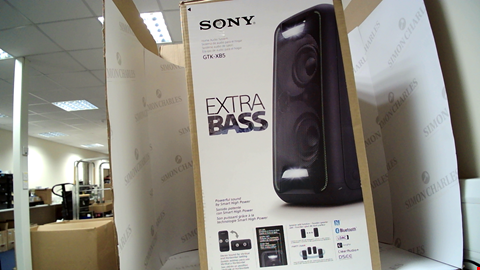 Lot 18118 SONY GTK-XB5 HIGH POWER ONE BOX MUSIC SYSTEM RRP £200.00