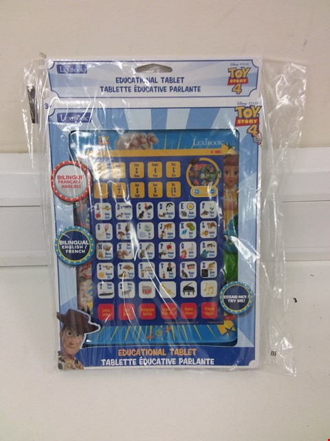 Lot 846 LEXIBOOK TOY STORY EDUCATIONAL TABLET  RRP £18.99