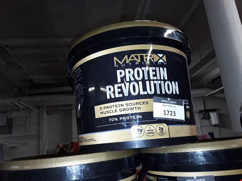 Lot 1723 MATRIX NUTRITION PROTEIN REVOLUTION 5 PROTEIN SOURCES MUSCLE GROWTH 5KG