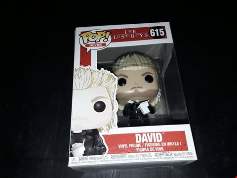 Lot 2058 POP MOVIES THE LOST BOYS DAVID  VINYL FIGURINE