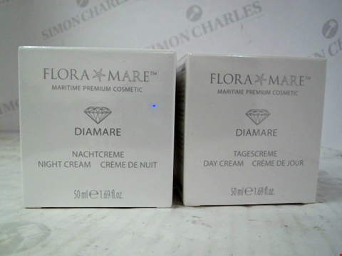 Lot 10007 SEALED FLORA MARE DIAMARE 2 PIECE DAY & NIGHT CREAM COLLECTION