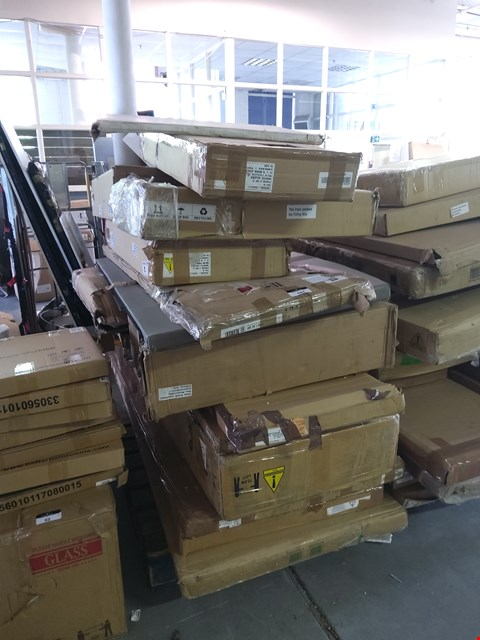 Lot 103 PALLET OF ASSORTED FLAT PACK FURNITURE PARTS
