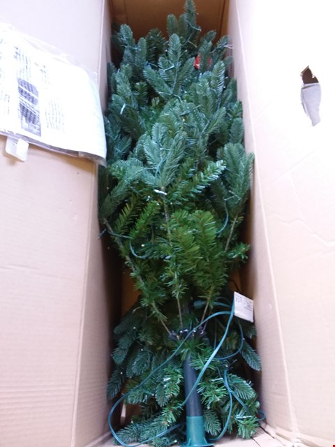 Lot 594 BOXED STARRY CHRISTMAS TREE - GREEN