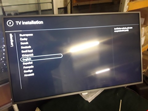 "Lot 1500 PHILIPS 55"" 4K ULTRA HD TELEVISION Model 55PUS6262  RRP £779.99"