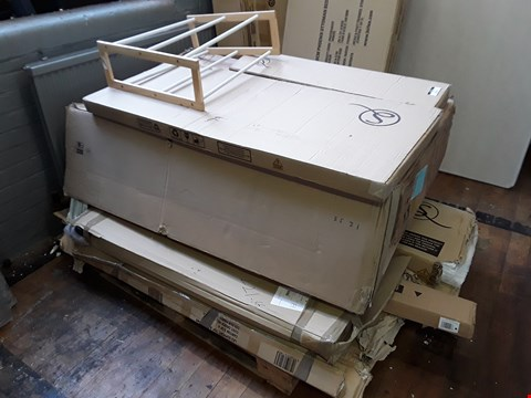 Lot 2117 PALLET OF ASSORTED FLAT PACK FURNITURE PARTS