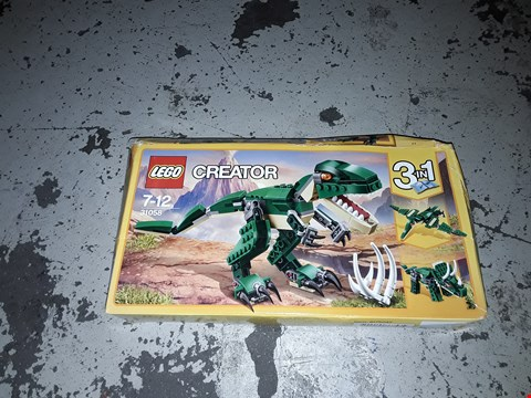 Lot 2261 LEGO 31058 CREATOR 3 in 1 MIGHTY DINOSAURS SET RRP £17.58