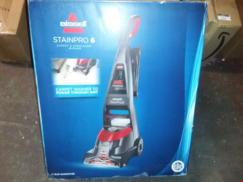 Lot 2405 BISSELL STAINPRO 6 CARPET DEEP CLEANER