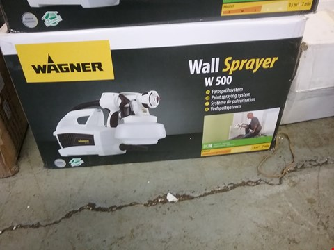 Lot 1609 BOXED WAGNER WALL SPRAYER W500