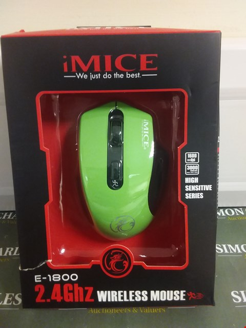 Lot 1099 IMICE 2.4GHZ WIRELESS MOUSE