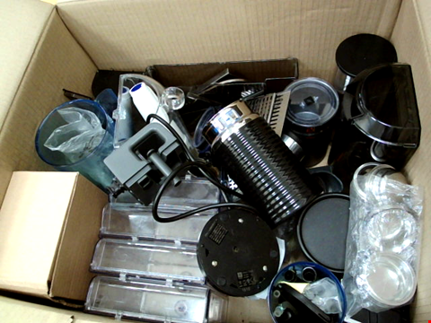 Lot 287 BOX OF ASSORTED COFFEE MACHINE PARTS & ACCESSORIES