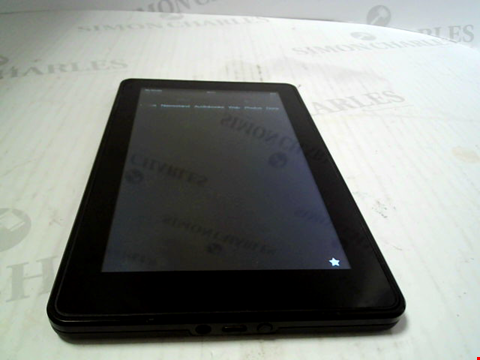 Lot 6132 AMAZON KINDLE FOR TABLET