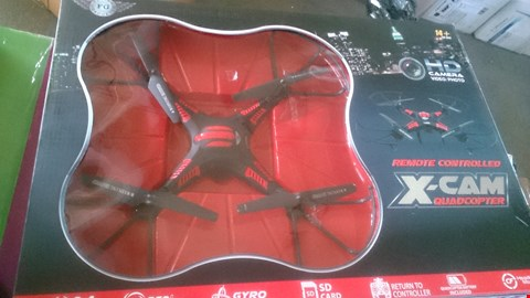 Lot 1234 BOXED XCAM QUADCOPTER