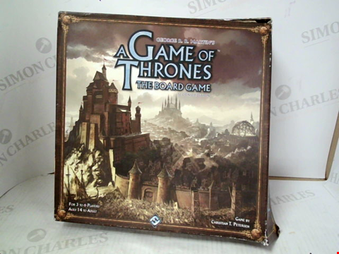 Lot 3127 A GAME OF THRONES THE BOARD GAME
