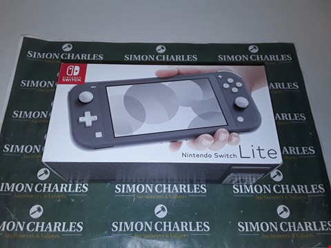 Lot 1245 NINTENDO SWITCH LITE CONSOLE - GREY RRP £259.00