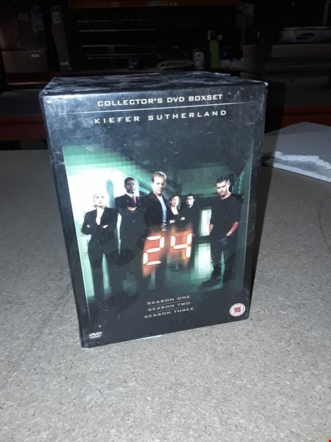 Lot 4085 DVD BOXSET 24 SEASON 1 - 3
