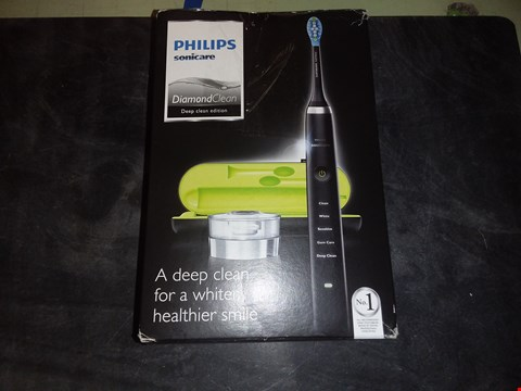 Lot 5532 PHILLIPS SONICARE DIAMOND CLEAN DEEP CLEAN EDITION
