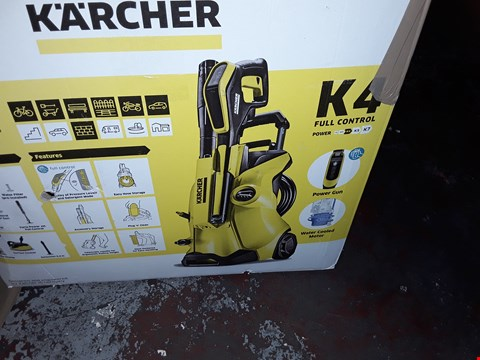 Lot 12551 KARCHER K4 FULL CONTROL PRESSURE WASHER