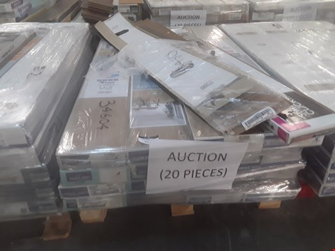 Lot 112 PALLET OF APPROXIMATELY 20 PACKS OF LAMINATE FLOORING