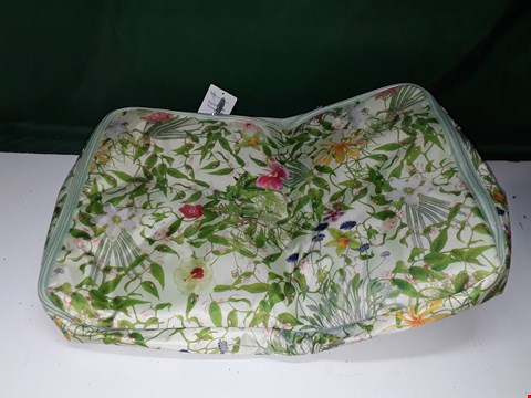 Lot 1370 THE CAMOUFLAGE COMPANY EXPANDING STORAGE CHEST FLORAL