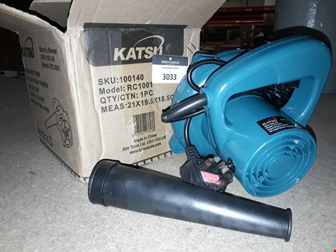 Lot 3033 KATSU 500W ELECTRIC BLOWER