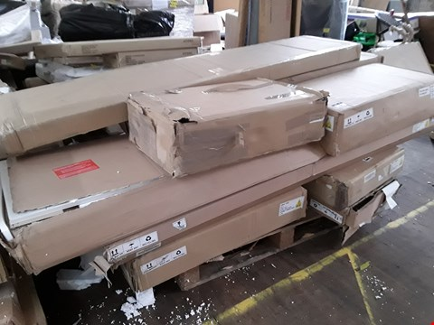 Lot 9128 PALLET OF ASSORTED FLAT PACK FURNITURE PARTS