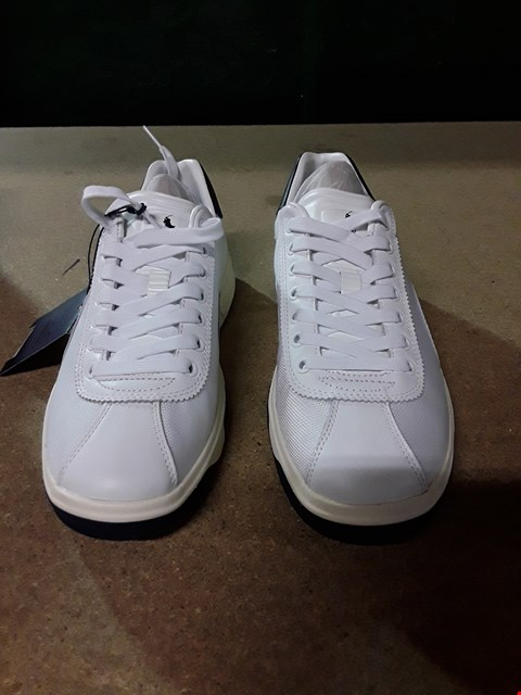 Lot 823 POLO RALPH LAUREN COURT100 TRAINERS SIZE 8 RRP £110