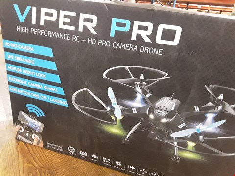 Lot 923 VIPER PRO DRONE WITH HD CAMERA