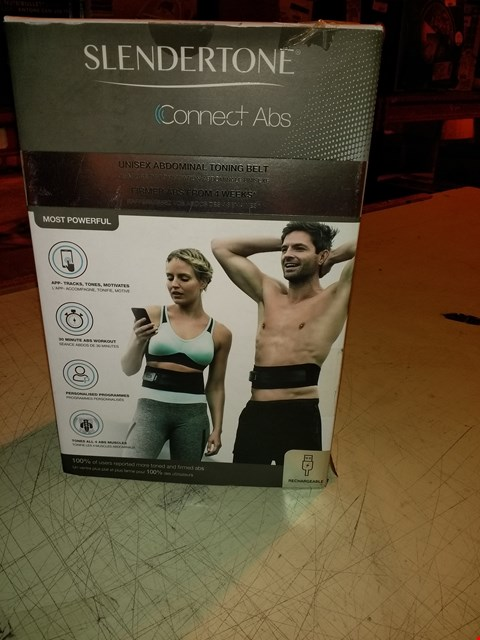 Lot 6504 SLENDERTONE CONNECT ABS UNISEX ABDOMINAL TONING BELT