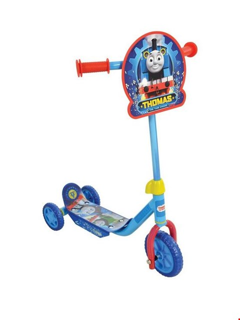 Lot 134 BRAND NEW BOXED THOMAS & FRIENDS MY FIRST TRI SCOOTER RRP £23.99