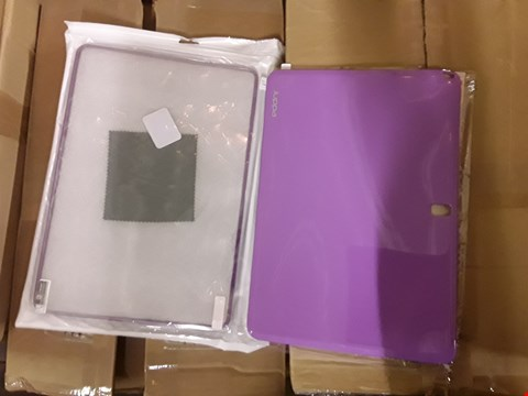 "Lot 2065 2 BOXES OF APPROXIMATELY 60 JUPPA 12.2"" GEL TABLET CASES - MIXED COLOURS"