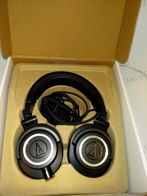 Lot 17531 AUDIO-TECHNICA ATH-M50X HEADPHONES