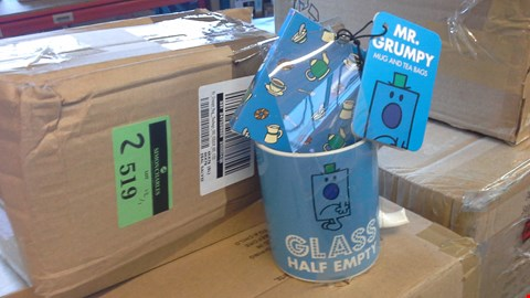 Lot 2519 MR.GRUMPY MUG AND TEA BAGS  RRP £12.00