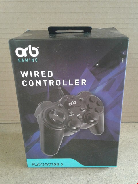 Lot 228 BRAND NEW BOXED ORB PS3 WIRED CONTROLLER