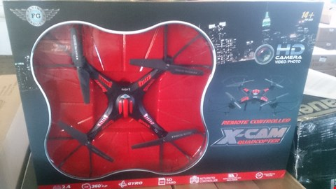 Lot 1007 X CAM QUADCOPTER