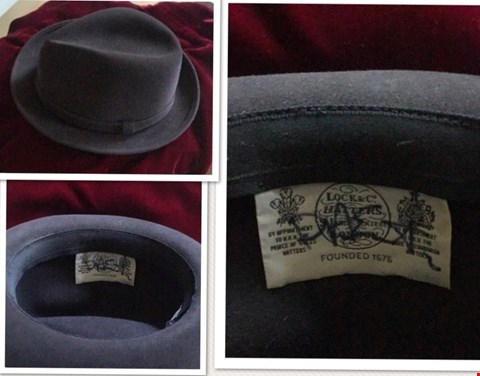 Lot 9 SIGNED HAT DONATED BY DAVE STEWART FROM THE EURYTHMICS