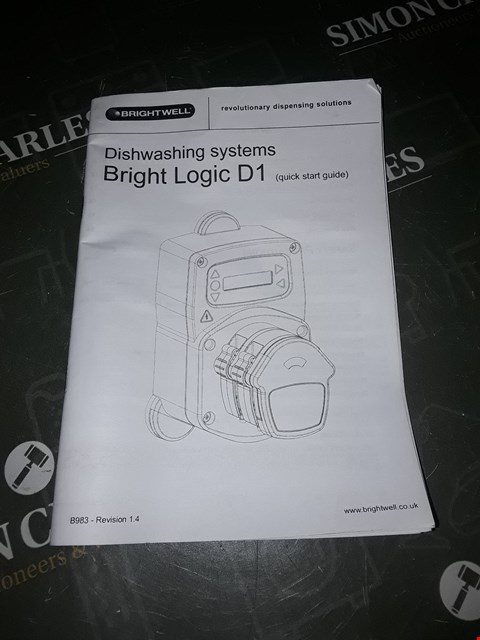 Lot 3074 BOXED BRIGHTWELL BRIGHT LOGIC D1 PUMP